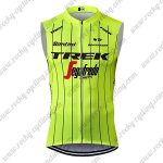 2018 Team TREK Segafredo Riding Vest Sleeveless Waistcoat Rain-proof Windbreak Yellow