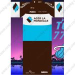 2019 Team AG2R LA MONDIALE Riding Outfit Cycle Clothing Kit2019 Team AG2R LA MONDIALE Riding Outfit Cycle Clothing Kit