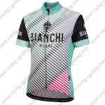 2019 Team BIANCHI MILANO Womens Lady Cycling Wear Biking Jersey Shirt