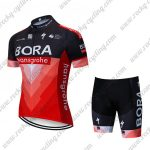 2019 Team BORA hansgrohe Biking Clothing Riding Kit Black Red
