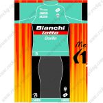 2019 Team Bianchi lotto Barilla Riding Outfit Cycle Clothing Kit