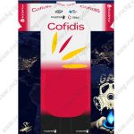 2019 Team Cofidis Riding Outfit Cycle Clothing Kit White Red