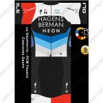 2019 Team HAGENS BERMAN NEON Riding Outfit Cycle Clothing Kit