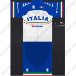 2019 Team ITALIA SUZUKI Riding Outfit Cycle Clothing Kit Blue White