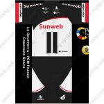 2019 Team Sunweb cervelo Riding Outfit Cycle Clothing Kit Black White