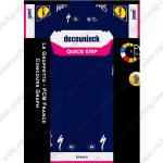 2019 Team deceuninck QUICK STEP Riding Outfit Cycle Clothing Kit Blue Pink