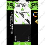 2019 Team dimension data Riding Outfit Cycle Clothing Kit White Green