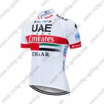 2019 UAE TEAM Emirates EMAAR Cycling Clothing Riding Jersey Shirt White Red