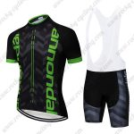 2019 Team Cannondale Biking Outfit Set Riding Apparel Padded Bib Kit Black Green