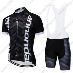 2019 Team Cannondale Biking Outfit Set Riding Apparel Padded Bib Kit Black White