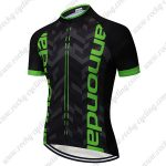 2019 Team Cannondale Cycle Wear Riding Top Jersey Shirt Black Green