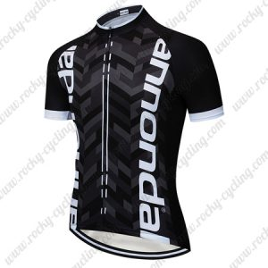 2019 Team Cannondale Cycle Wear Riding Top Jersey Shirt Black White