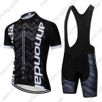 2019 Team Cannondale Cycle Wear Set Riding Apparel Padded Bib Kit Black White