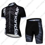 2019 Team Cannondale Cycling Clothing Set Riding Apparel Kit Black White