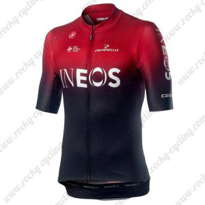2019 Team Castelli INEOS Cycling Clothing Riding Top Jersey Shirt Red Black