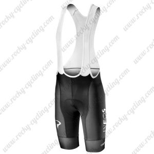 2019 Team Castelli INEOS Womens Cycling Clothing Lady Riding Padded Bib Shorts Bottoms Black
