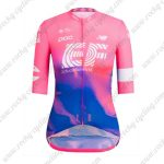 2019 Team EF Cannondale Womens Biking Clothing Lady Riding Jersey Shirt Pink