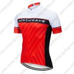 2019 Team NORTHWAVE NW Biking Outfit Riding Top Jersey Shirt White Red