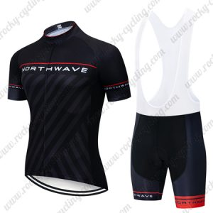 2019 Team NORTHWAVE NW Biking Outfit Set Riding Bib Kit Black