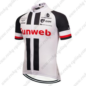2019 Team Sunweb Cycling Clothing Riding Jersey Shirt White Black Red