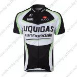 2011 Team LIQUIGAS cannondale Cycling Maillot Jersey Shirt Black White Green