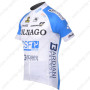 2012 Team COLNAGO Cycle Jersey White Blue2012 Team COLNAGO Cycle Jersey White Blue