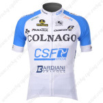 2012 Team COLNAGO Cycling Jersey White Blue