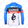 2012 Team GARMIN SHARP Riding Long Sleeve Jersey Blue