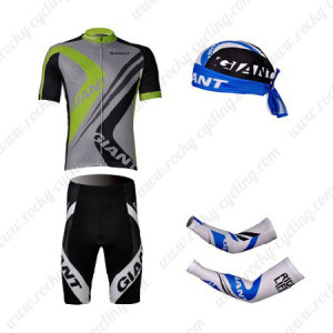 2012 Team GIANT Pro Cycling Set Green Grey