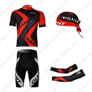 2012 Team GIANT Pro Cycling Set Red Black