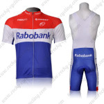 2012 Team Rabobank Cycling Bib Kit Red Blue