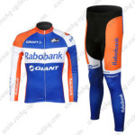 2012 Team Rabobank Pro Riding Long Kit Blue