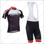 2013 Team CASTELLI Cycling Bib Kit