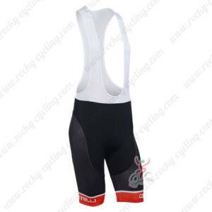 2013 Team CASTELLI Cycling Bib Shorts Black