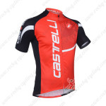 2013 Team CASTELLI Pro Cycling Jersey Red