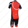 2013 Team CASTELLI Pro Cycling Kit Red