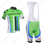 2013 Team Cannondale Cycling Bib Kit Green