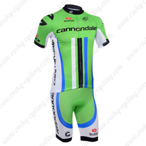 2013 Team Cannondale Cycling Kit Green