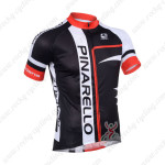 2013 Team Pinarello Cycling Jersey Black Red