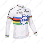 2013 Team QUICK STEP UCI Cycling Long Jersey White