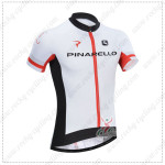 2014 Team PINARELLO Cycling Jersey White Red