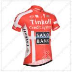 2014 Team SAXO BANK Bike Jersey Red