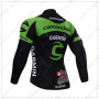 2015 Team GARMIN cannondale Bicycle Long Jersey Black Green