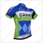 2015 Team GARMIN cannondale Cycling Jersey Blue Green