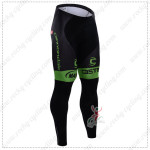 2015 Team GARMIN cannondale Cycling Long Pants Tights Black Green