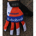 2015 Team Rabobank Winter Cycling Thermal Fleece Gloves