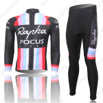 2013 Team Rapha FOCUS Cycling Long Kit Black