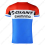 2015 Team GIANT SHIMANO Riding Outdoor Sport Apparel Sweatshirt Round Neck T-shirt Red Blue