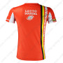 2015 Team LOTTO SOUDAL Riding Outdoor Sport Clothing Sweatshirt Round Neck T-shirt Red