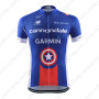 2015 Team GARMIN cannondale Cycling Jersey Blue Red